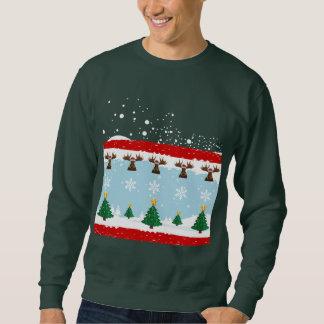 Weihnachtshässliche Strickjacke 7 Sweatshirt