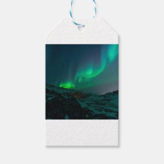 Weihnachtshimmel die Nordlichter Geschenkanhänger