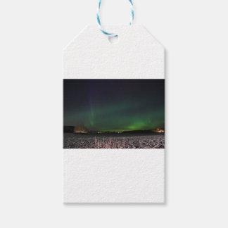 Weihnachtshimmel-Nordlichter Geschenkanhänger