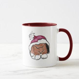 Weihnachtshut-Nickerchen Purrfect für Tammy Tasse