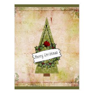 Weihnachtsim Juli Baum Postkarte