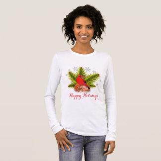 WeihnachtsKardinals-Vogel-Feiertags-T - Shirt