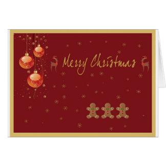 Weihnachtskarte 4 karte