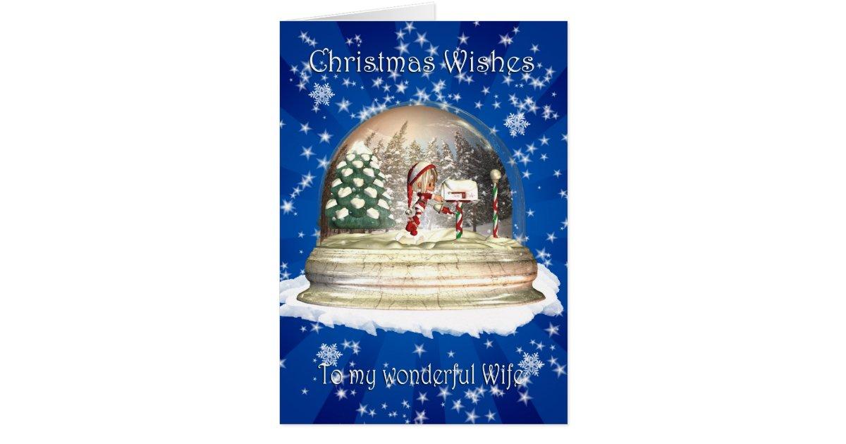 Weihnachtskarte ehefrau weihnachten elf in einem karte for Weihnachtsgeschenke ehefrau