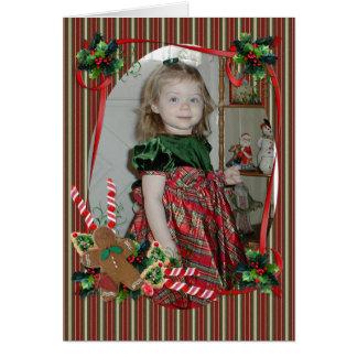 Weihnachtskarte für Foto Karte