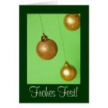 Weihnachtskarte Grußkarte