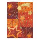 Weihnachtskarte Gutschein Karte