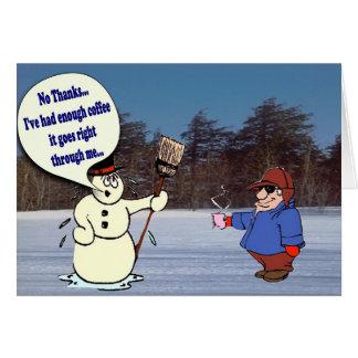 Weihnachtskarte humorvoll karte
