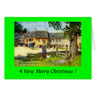 Weihnachtskarte - Laderaum-auf-d-Wold Karte