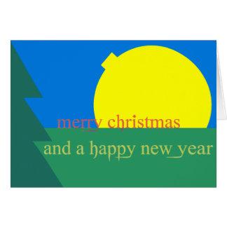 Weihnachtskarte Neujahr 2011 christmas card Grußkarte