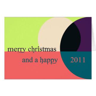 Weihnachtskarte Neujahr 2011 christmas card Karte