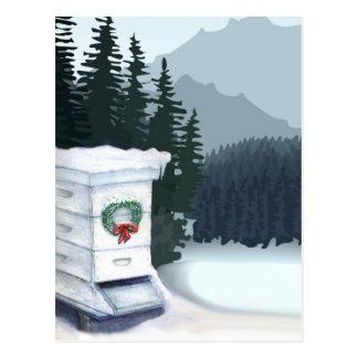 Weihnachtskarte Postkarte