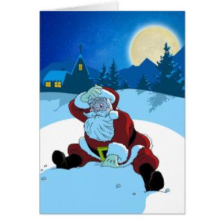 Weihnachtskarte - WTF Sankt Karte