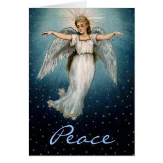 Weihnachtskarten-Friedensengel Karte