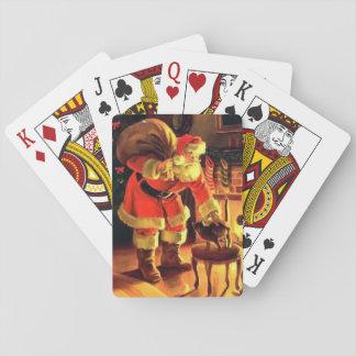 Weihnachtskarten Spielkarten