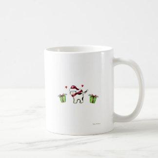 Weihnachtskatze Kaffeetasse