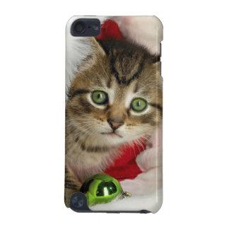 Weihnachtskatze - Kätzchenkatze - niedliche Katzen iPod Touch 5G Hülle