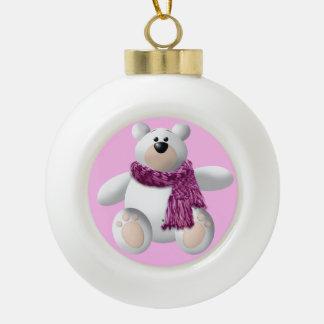 WeihnachtsKeramik-Ball Keramik Kugel-Ornament