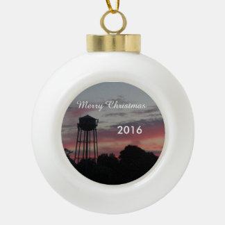 WeihnachtsKeramik-Ball-Verzierung 2016 Keramik Kugel-Ornament