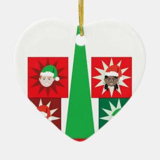 Weihnachtskindergeschenk-Baum Keramik Ornament