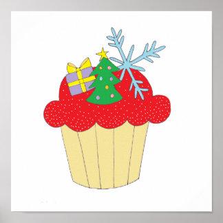 Weihnachtskleiner kuchen plakat
