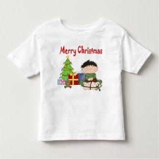 Weihnachtskleinkind-Jungen-Kleinkind-T - Shirt