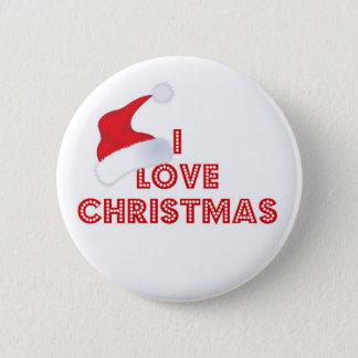 Weihnachtsknopf Runder Button 5,7 Cm