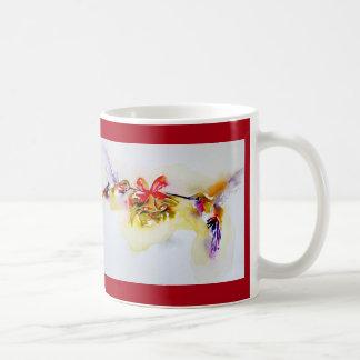 """Weihnachtskolibris """"kleiner Bell"""" Kaffeetasse"""