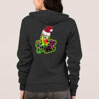Weihnachtskraken-Entwurf Hoodie fertigen