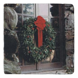 WeihnachtsKranz Trivet Töpfeuntersetzer