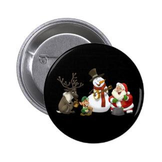 Weihnachtskrug-Band-Knopf Anstecknadelbuttons