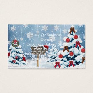 Weihnachtskunst - Weihnachtsillustrationen Visitenkarte