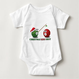 Weihnachtskuss-Schuss-Säuglingsabnutzung Baby Strampler
