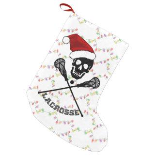 Weihnachtslacrosse-Stöcke Kleiner Weihnachtsstrumpf