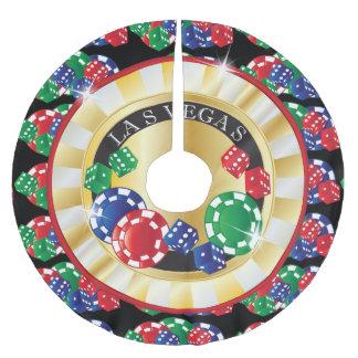 WeihnachtsLas Vegas-Art Polyester Weihnachtsbaumdecke