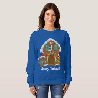 Weihnachtslebkuchen addieren Mitteilung weatshirt Sweatshirt