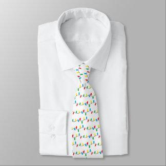 """""""Weihnachtslicht-"""" Krawatte"""
