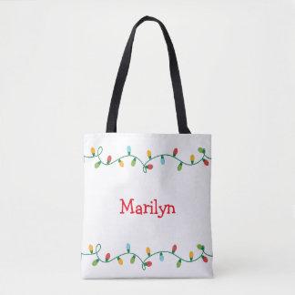 Weihnachtslicht-Taschen-Tasche #HolidayZ Tasche