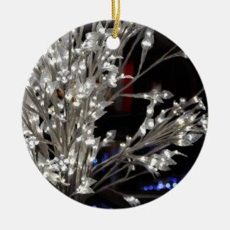 Weihnachtslichter Keramik Ornament