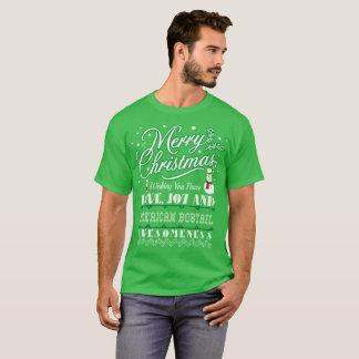 WeihnachtsLiebe-amerikanische Bobtail T-Shirt