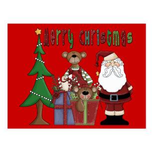 Glückliche Weihnachtsliebe