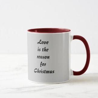 WeihnachtsLiebe-Tasse Tasse