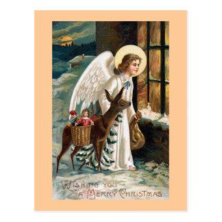 """""""Weihnachtslieferung """" Postkarte"""