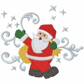 Weihnachtsmagie Bestickte Sportjacken