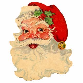 Weihnachtsmann 1 fotoskulptur ornament