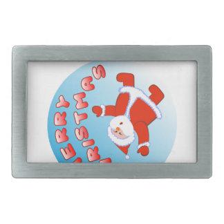 Weihnachtsmann 5 rechteckige gürtelschnallen