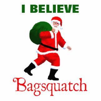 Weihnachtsmann - Bagsquatch Fotoskulptur Magnet