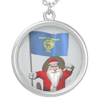 Weihnachtsmann besichtigt TheUS Biber-Staat Versilberte Kette