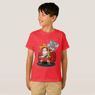Weihnachtsmann bin ich ein gutes Kind. Gelassen T-Shirt