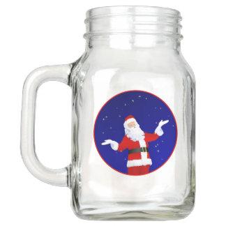 Weihnachtsmann Einmachglas